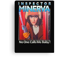 Inspector Minerva tee Canvas Print