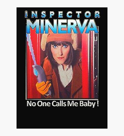 Inspector Minerva tee Photographic Print