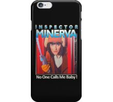Inspector Minerva tee iPhone Case/Skin