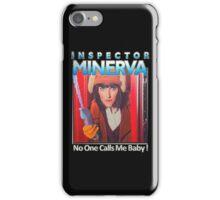 Inspector Minerva tee iPhone Case/Skin