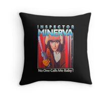 Inspector Minerva tee Throw Pillow