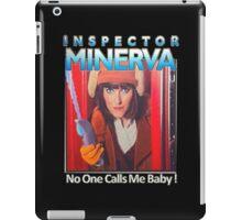 Inspector Minerva tee iPad Case/Skin