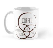 Coffee, good food & music! Mug