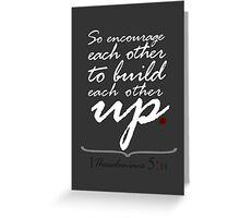 Encourage Greeting Card
