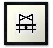 Hongbin VIXX  Framed Print