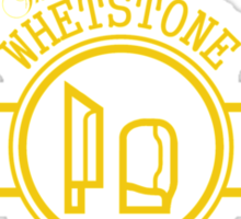 Whetstone, stay sharp Sticker