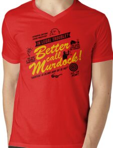 Better Call Murdock! Mens V-Neck T-Shirt