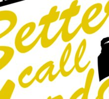 Better Call Murdock! Sticker