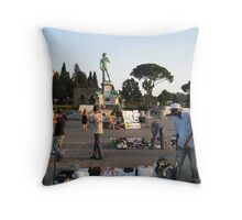 Commerce Throw Pillow