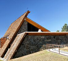 Pactola's Visitor Center - Black Hills South Dakota by WILDBRIMOWILDMAN