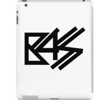 BASS (black) iPad Case/Skin