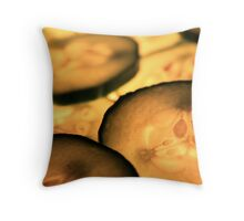 Traditional Cucumber Throw Pillow