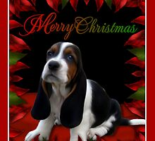 Personalized Pet Cards Style No. 2: Samples: Basset Hound by Lisa  Weber