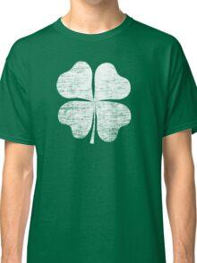 St. Patrick's Day Women's Retro Shamrock American Apparel Shirt Classic T-Shirt