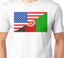 usa afghanistan Unisex T-Shirt