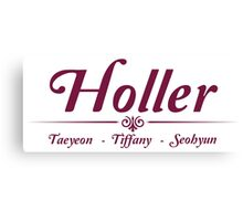Taetiseo - Holler Canvas Print