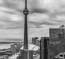 CN Tower by John Velocci