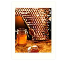 Honey Art Print