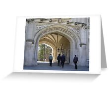 Princeton Arches Greeting Card