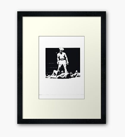 CREAM OF WHEAT KNOCKOUT Framed Print