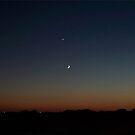 October 31 Sunset by Glenna Walker