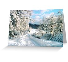 Pennsylvania Winter Greeting Card