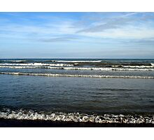 Waves at Woodbine Photographic Print