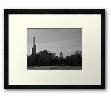 Retrospective Framed Print