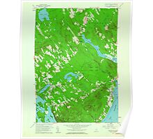 Maine USGS Historical Map Lincolnville 806857 1960 24000 Poster