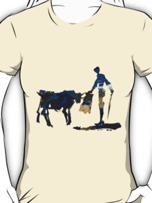 """Until Tomorrow"" Earth Picasso Bull Fighter T-Shirt"