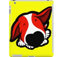 Big Nose Bull Terrier Red iPad Case/Skin