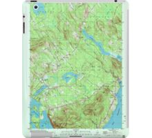 Maine USGS Historical Map Lincolnville 808031 2000 24000 iPad Case/Skin