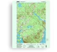 Maine USGS Historical Map Lincolnville 808031 2000 24000 Canvas Print