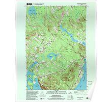 Maine USGS Historical Map Lincolnville 808031 2000 24000 Poster