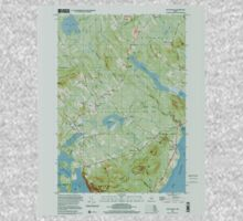 Maine USGS Historical Map Lincolnville 808031 2000 24000 One Piece - Long Sleeve
