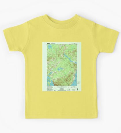 Maine USGS Historical Map Lincolnville 808031 2000 24000 Kids Tee