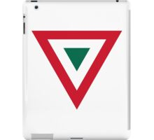 Roundel of the Mexican Air Force  iPad Case/Skin
