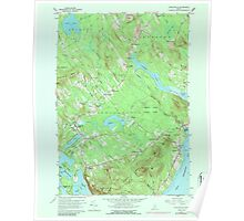 Maine USGS Historical Map Lincolnville 808032 1960 24000 Poster