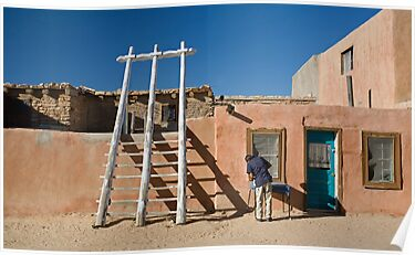 The Pueblo by Glennis  Siverson