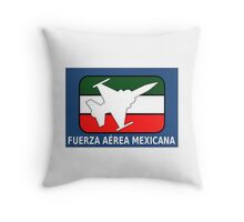 Logo of the Mexican Air Force Throw Pillow