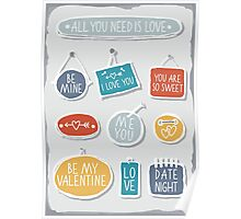 love labels Poster