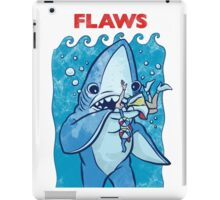 Flaws The Left Shark Jaws Parody iPad Case/Skin
