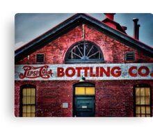 Pepsi-Cola Bottling Co. - Danville, VA - HDR Canvas Print