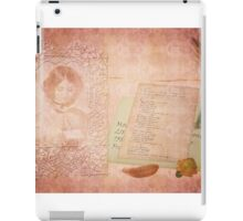 The Letter iPad Case/Skin