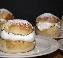 Fat Tuesday buns by Eivor Kuchta
