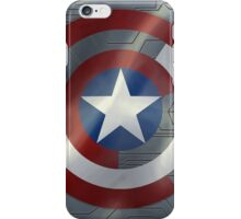 Steve & Bucky Unshielded Turned Shield  iPhone Case/Skin