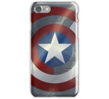 Steve & Bucky Unshielded Turned Shield  iPhone Case/Skin