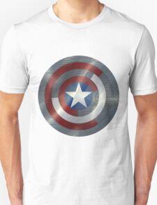 Steve & Bucky Unshielded Turned Shield  Unisex T-Shirt