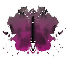 Rorschach test in color by devangari