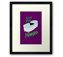 Monster Ness Framed Print